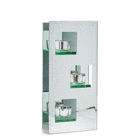 97888_KSP_Sparkle_Glass_Tealight_Holder_3_Light__Silver