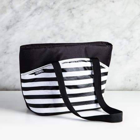 97904_Thermos_Raya_Tote_'Stripes'_Insulated_9_Can_Lunch_Bag__Black_White