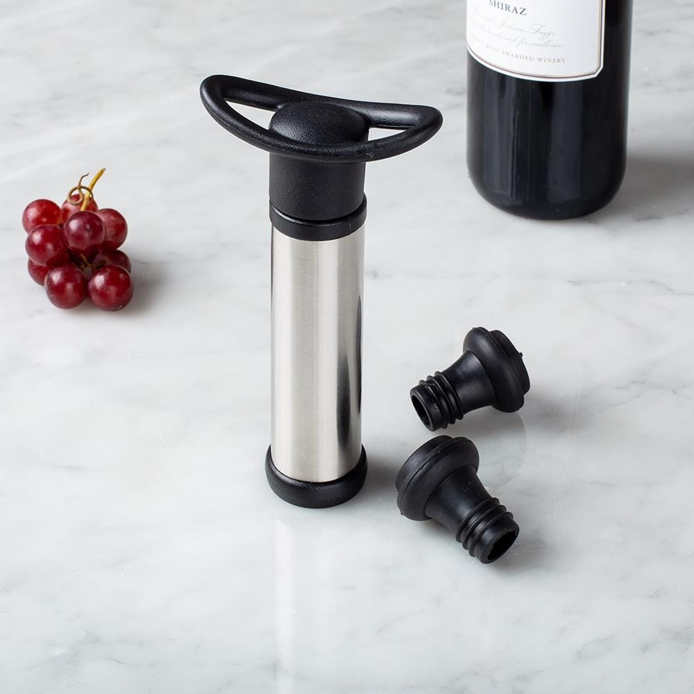 97939_KSP_Vintners_Wine_Pump_with_2_Stoppers___Set_of_3__St_St___Black