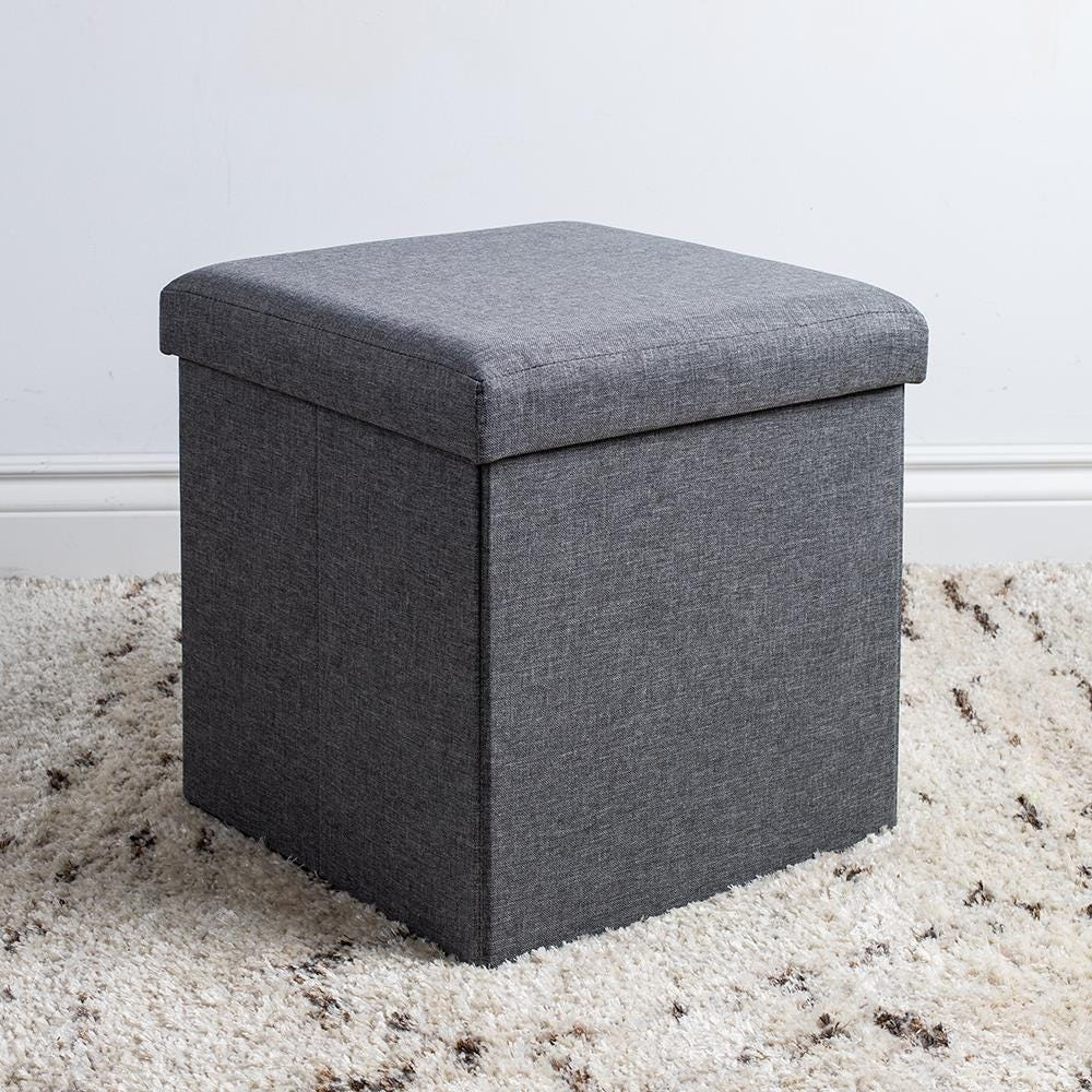 97974_KSP_Sit_Collapsible_Fabric_Storage_Ottoman__Grey