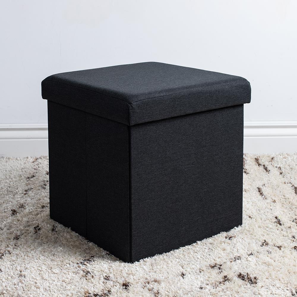 97977_KSP_Sit_Collapsible_Fabric_Storage_Ottoman__Black