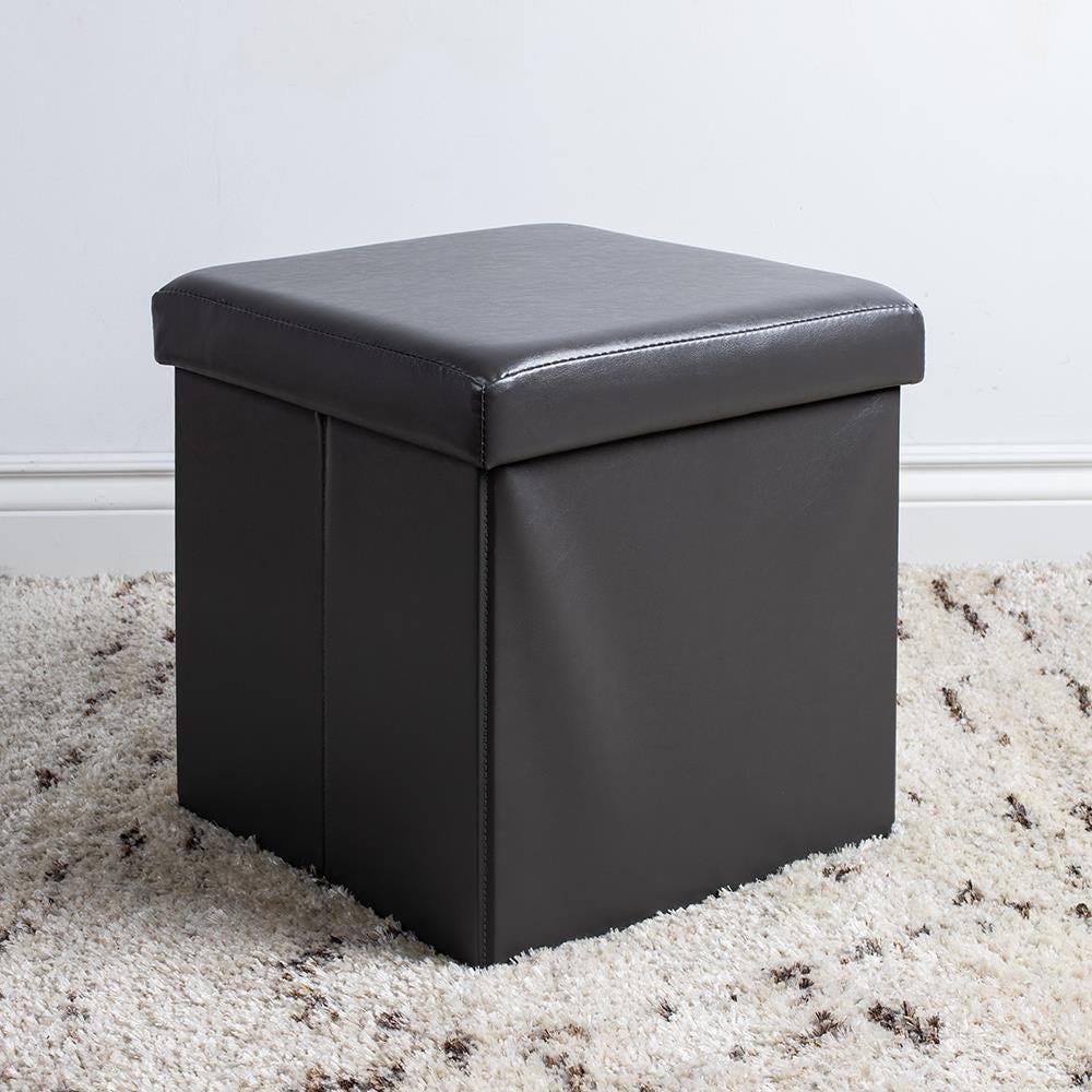 97978_KSP_Sit_Collapsible_Leatherette_Storage_Ottoman__Grey