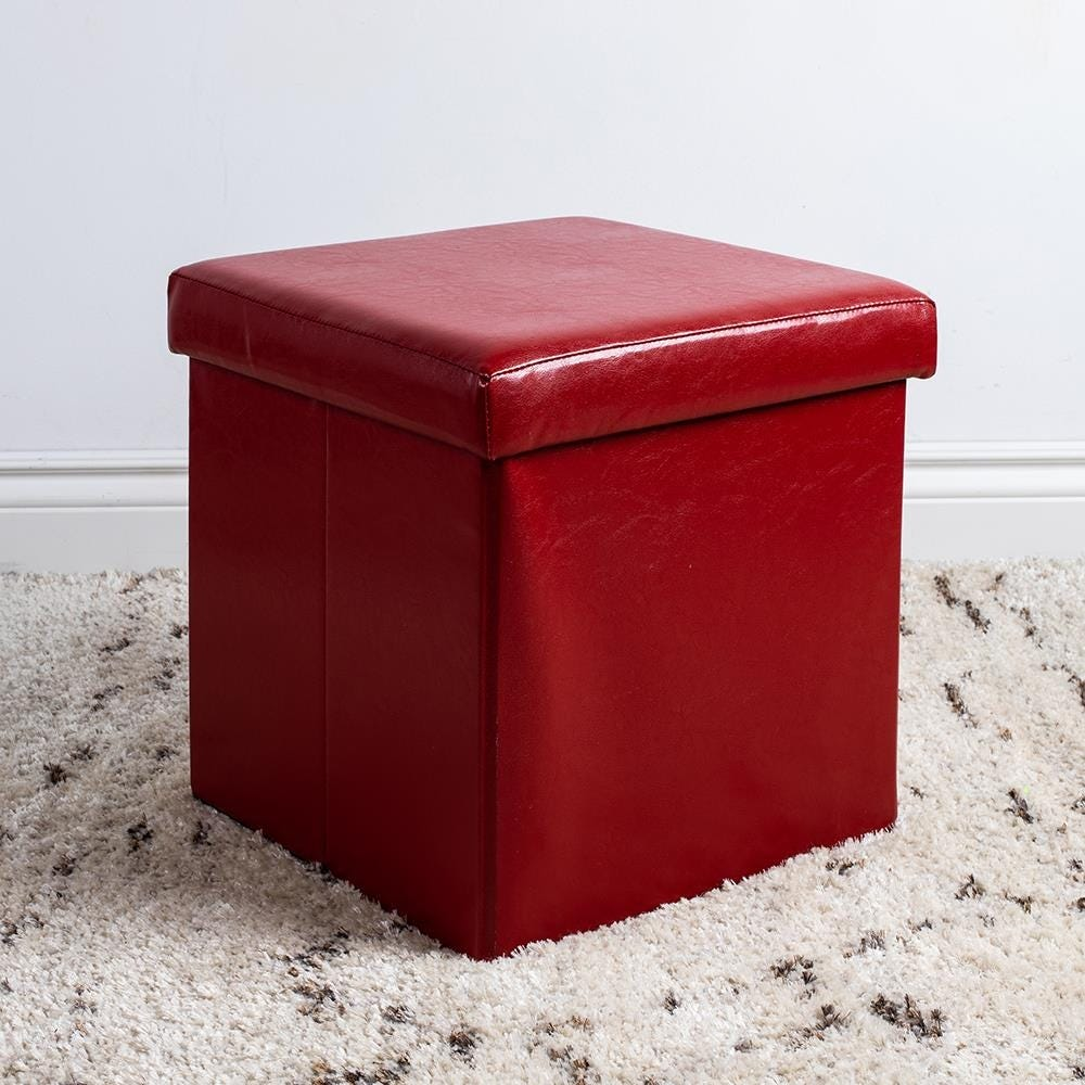 97979_KSP_Sit_Collapsible_Leatherette_Storage_Ottoman__Red
