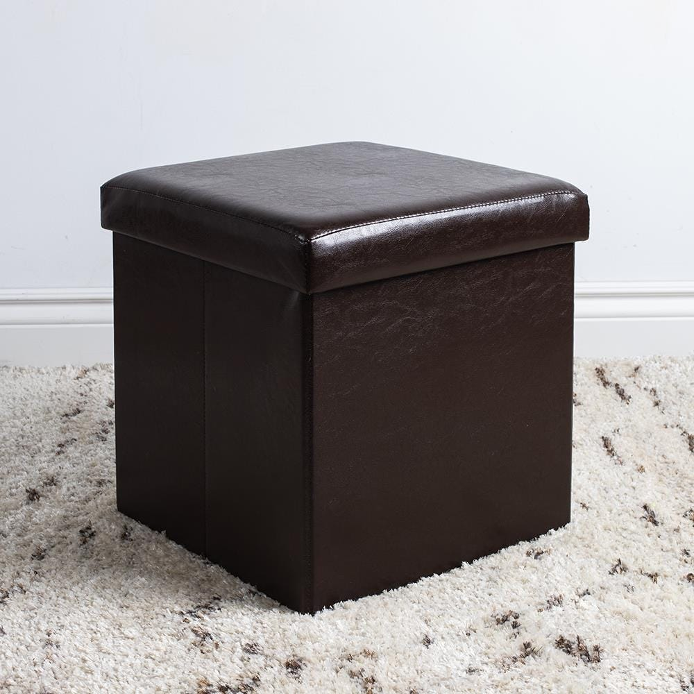 97980_KSP_Sit_Collapsible_Leatherette_Storage_Ottoman__Brown