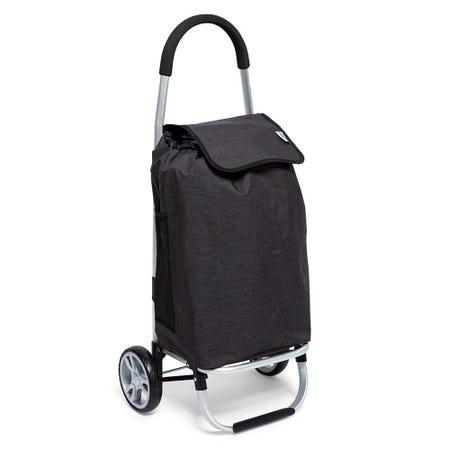 97998_KSP_Metro_'Solid'_Aluminum_Shopping_Trolley__Black