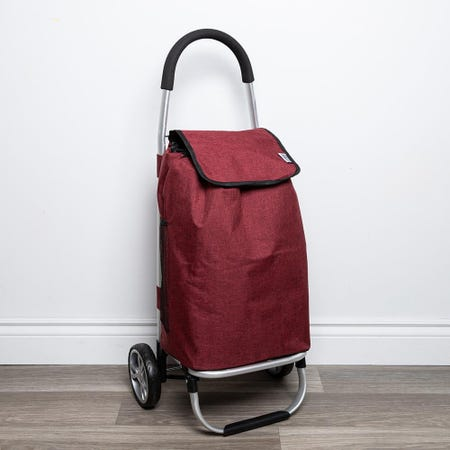 98001_KSP_Metro_'Solid'_Aluminum_Shopping_Trolley__Red