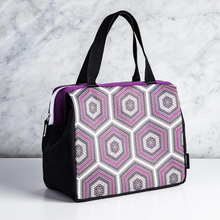 98009_Thermos_Raya_Duffle_'Hexagon'_Insulated_9_Can_Lunch_Bag__Purple