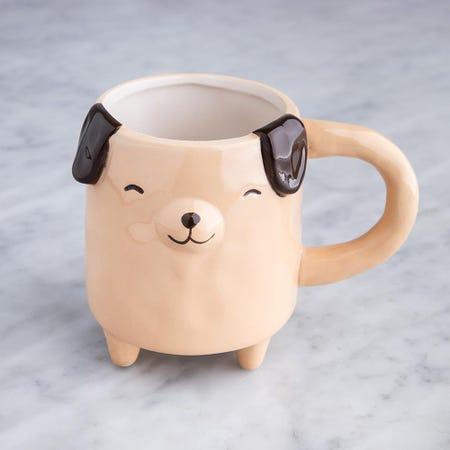 98076_Boston_Warehouse_Stand_Up_Dog_Ceramic_Mug