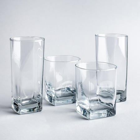 98173_Libbey_Bristol_Drinking_Glass_Combo___Set_of_16__Clear