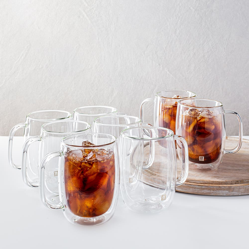 ZWILLING Sorrento Double Wall 'Buy 6 & Get 8' Coffee Mug with Handle