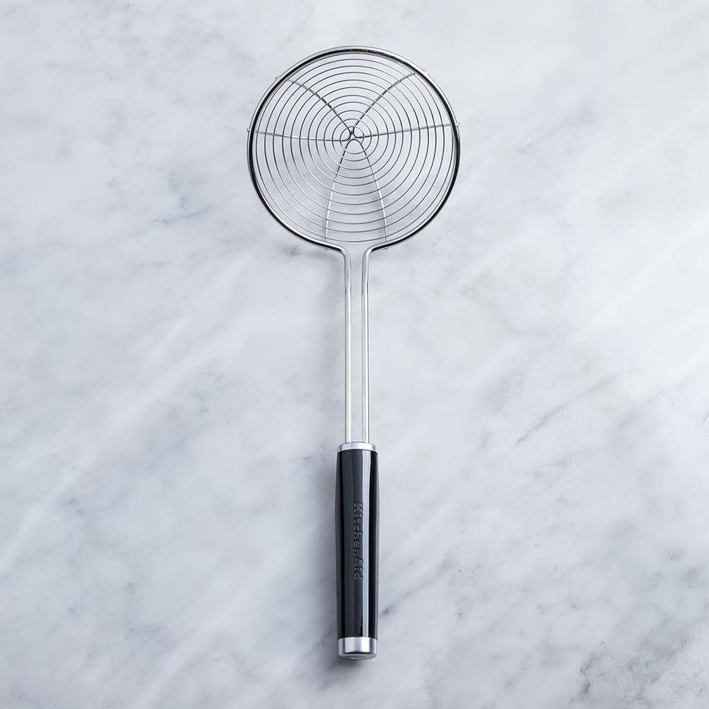 98250_KitchenAid_Classic_Asian_Style_Wire_Strainer__Black_Stainless_Steel