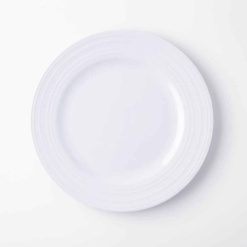 KSP Meridian Melamine Dinner Plate (White)