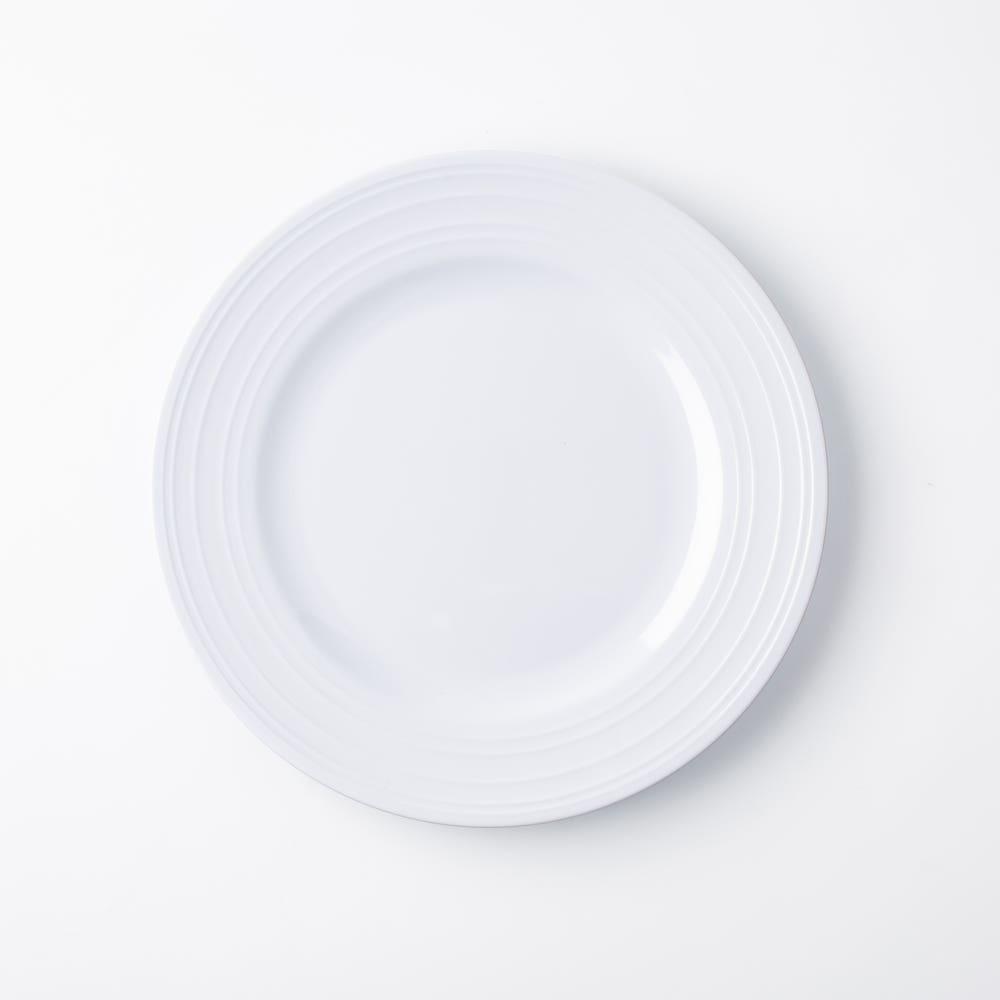 KSP Meridian Melamine Side Plate (White)