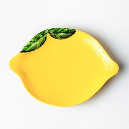 98524_KSP_Melamine_Lemon_Side_Plate__Yellow