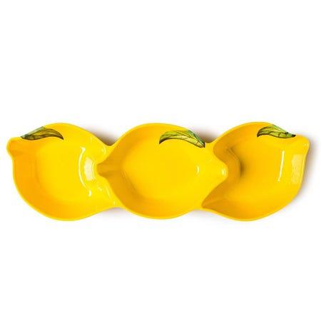 98525_KSP_Lemon_Melamine_Divided_Bowl__Yellow
