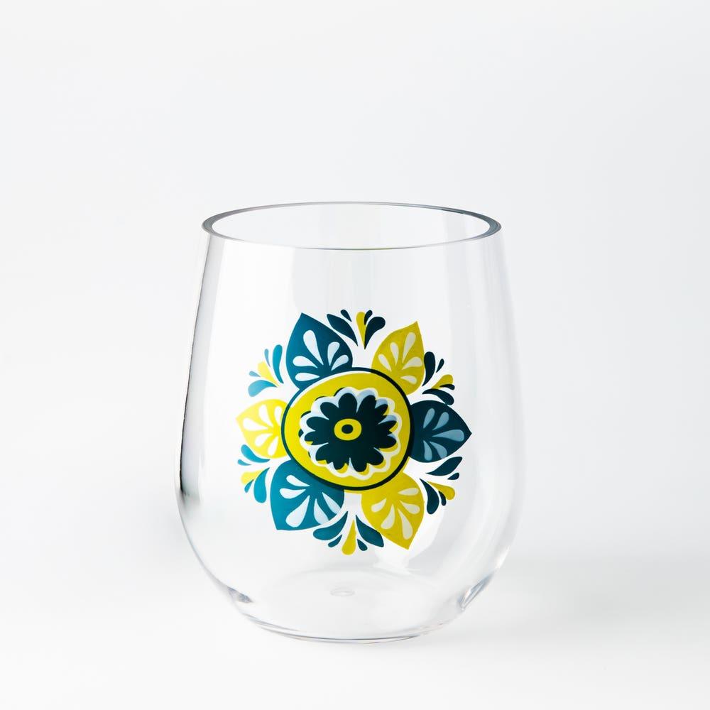 KSP Fun In The Sun Stemless Wine Glass