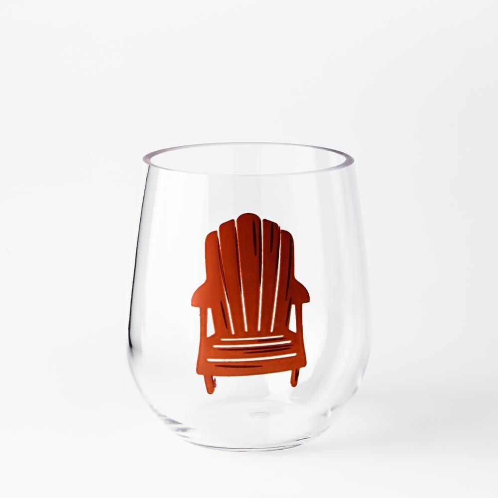 KSP Fun In The Sun 'Adirondack' Stemless Wine Glass