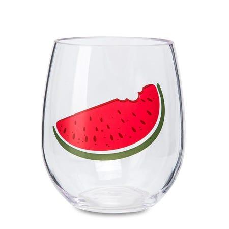 98531_KSP_Fun_In_The_Sun_'Watermelon'_Stemless_Wine_Glass
