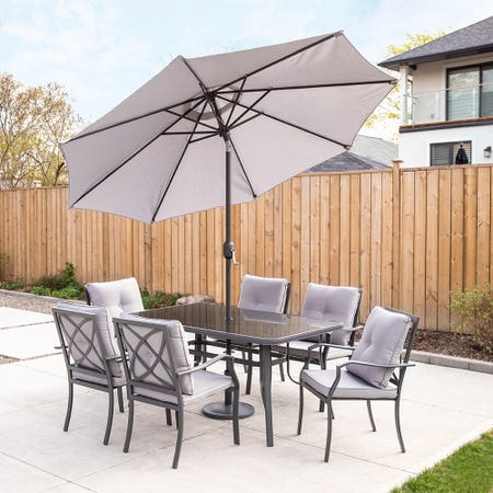 Cookstown Patio Table S 9 Gry