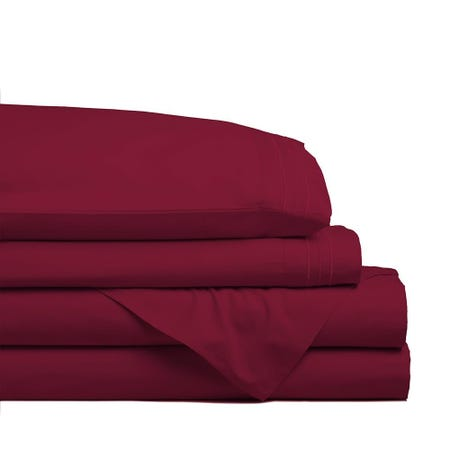 98787_Hotel___Home_Ultra_Soft_Microfiber_Double_Sheet___Set_of_4__Burgundy