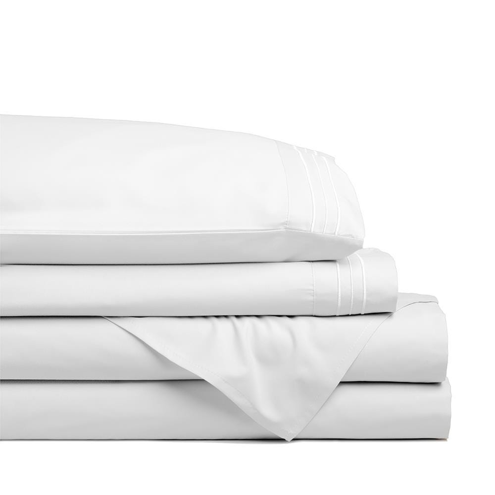 98791_Hotel___Home_Ultra_Soft_Microfiber_Double_Sheet___Set_of_4__White