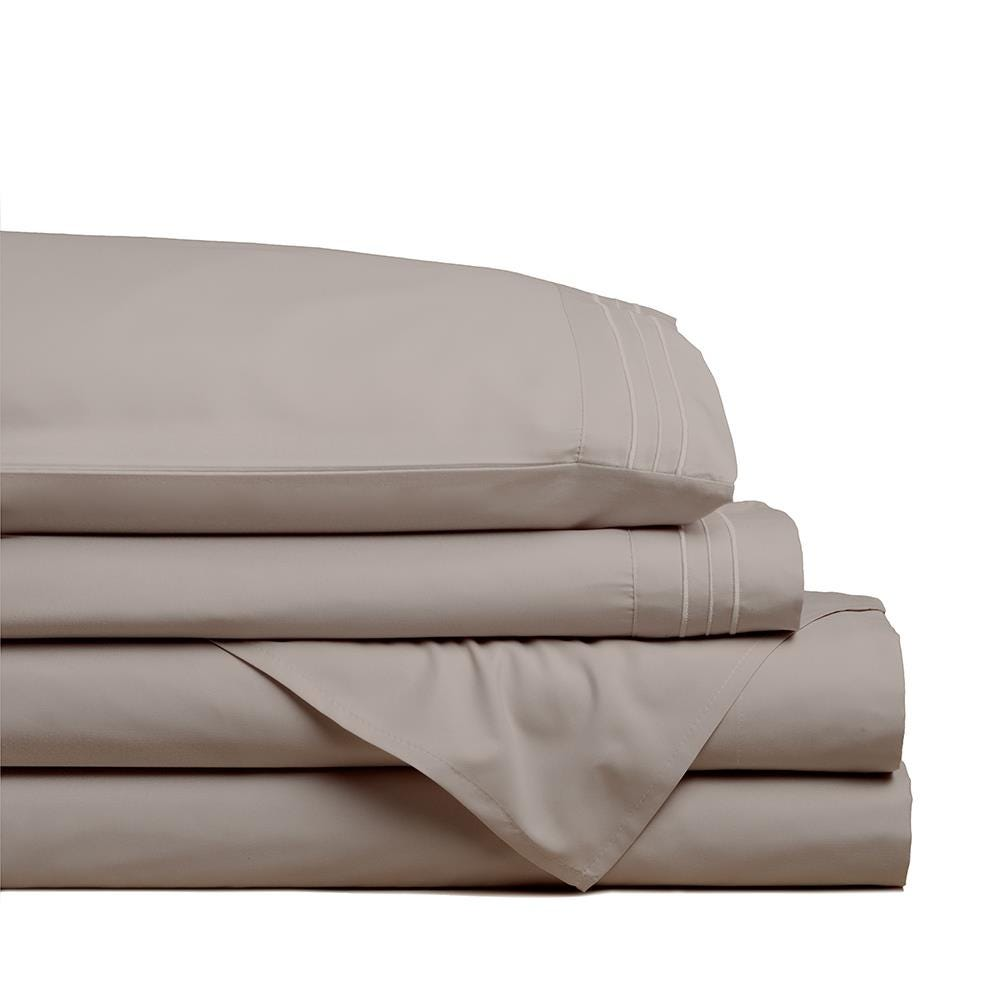 98796_Hotel___Home_Ultra_Soft_Microfiber_Twin_Sheet___Set_of_4__Taupe