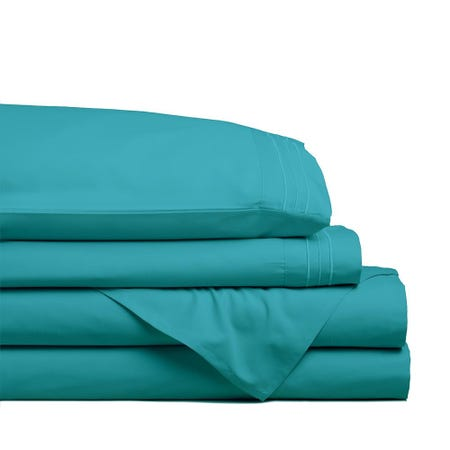 98804_Hotel___Home_Ultra_Soft_Microfiber_Twin_Sheet___Set_of_4__Turquoise