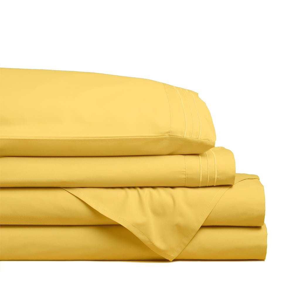 98807_Hotel___Home_Ultra_Soft_Microfiber_Double_Sheet___Set_of_4__Sunshine