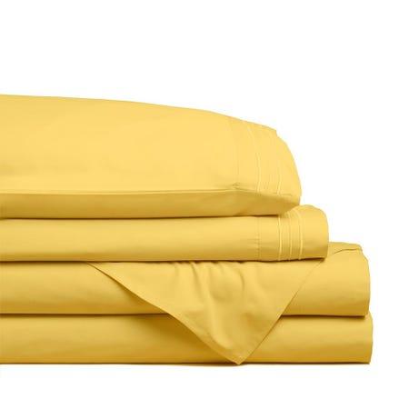 98808_Hotel___Home_Ultra_Soft_Microfiber_Twin_Sheet___Set_of_4__Sunshine