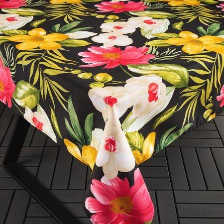 98899_Texstyles_Printed_'Waikiki'_Polyester_Tablecloth__Black__78