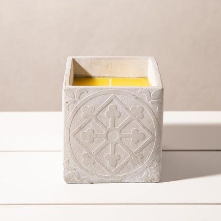 98905_KSP_Gardina_'Diamond'_Citronella_Candle_Cement_Pot