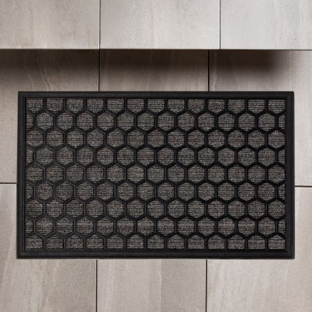 98909_KSP_Tufted_'Ogee'_Rubber_Backed_Doormat__Grey
