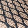 KSP Tufted 'Links' Rubber Backed Doormat (Natural)