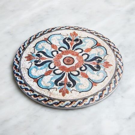 98912_KSP_Tessera_'Capri'_Ceramic_Trivet__Brown_Natural