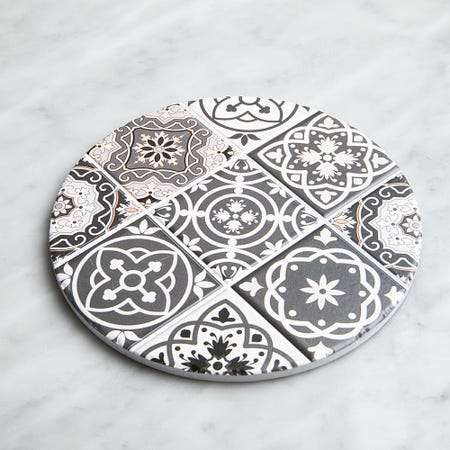 98916_KSP_Tessera_'Spanish_Tile'_Ceramic_Trivet__Grey