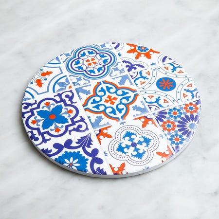 98917_KSP_Tessera_'Spanish_Tile'_Ceramic_Trivet__Multi_Colour