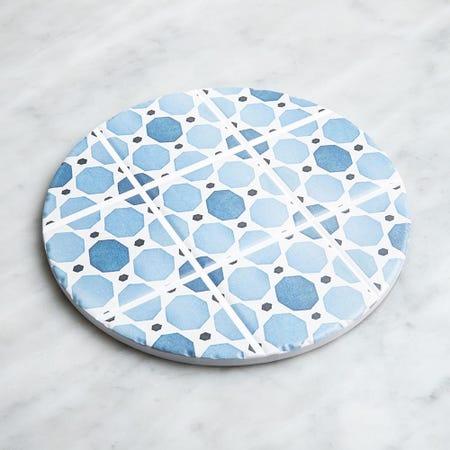 98921_KSP_Tessera_'Geo'_Ceramic_Trivet__Blue