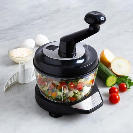 98927_KSP_Easy_Chop_Rotating_Food_Chopper__Black_Stainless_Steel