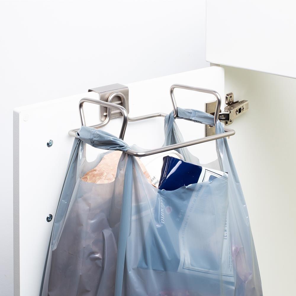 98945_KSP_Max_Over_Cabinet_Bag_Holder__Matte_Nickel
