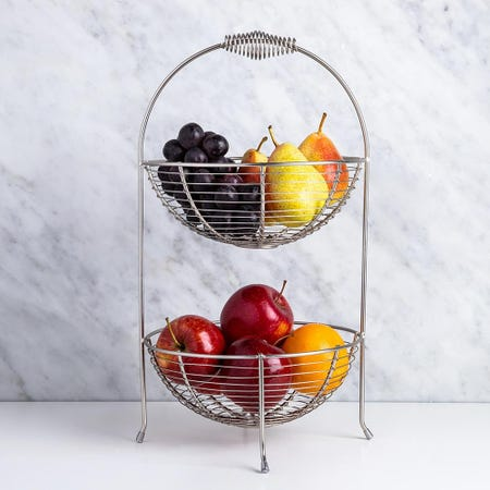 98948_KSP_Circ_2_Tier_Fruit_Vegetable_Basket__Matte_Nickel