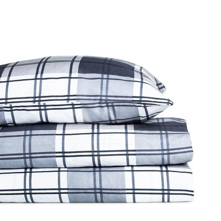 98960_Hotel___Home_Ultra_Soft_'Patterned'_100__Microfibre_Sheet_Set__Twin