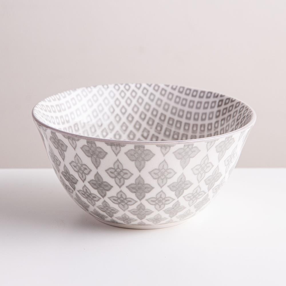 98972_KSP_Oishi_'Diamond'_Stoneware_Bowl___Small__Grey
