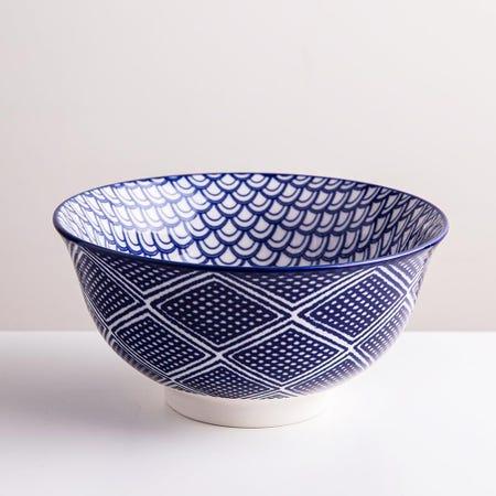 98976_KSP_Oishi_'Waves'_Stoneware_Bowl___Medium__Navy