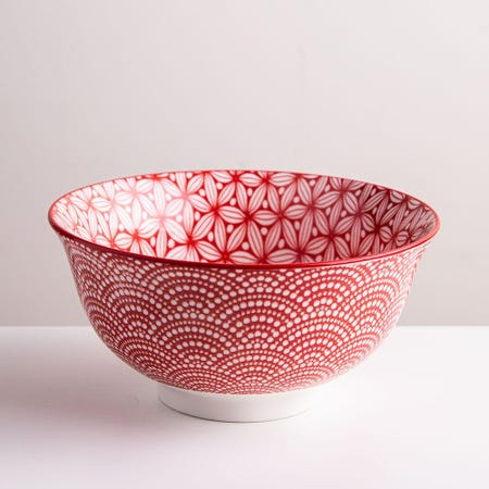 98977_KSP_Oishi_'Sakura'_Stoneware_Bowl___Medium__Red