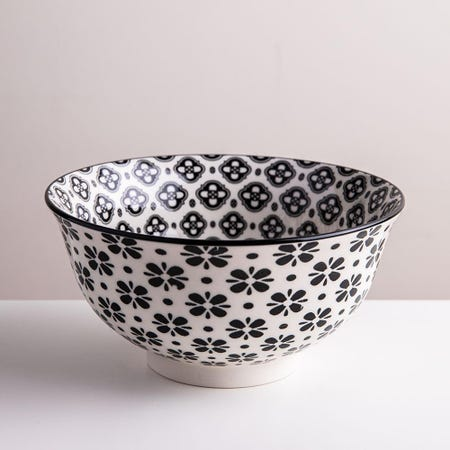 98979_KSP_Oishi_'Flower_Burst'_Stoneware_Bowl___Medium__Black