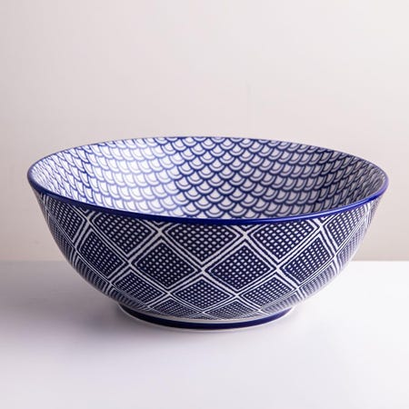 98982_KSP_Oishi_'Waves'_Stoneware_Bowl___Large__Navy