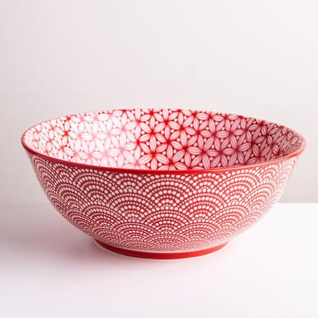 98983_KSP_Oishi_'Sakura'_Stoneware_Bowl___Large__Red