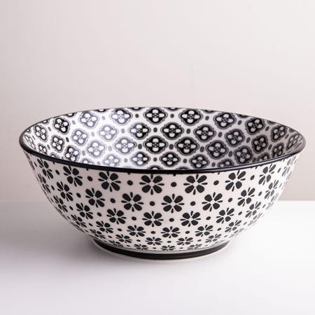 98985_KSP_Oishi_'Flower_Burst'_Stoneware_Bowl___Large__Black