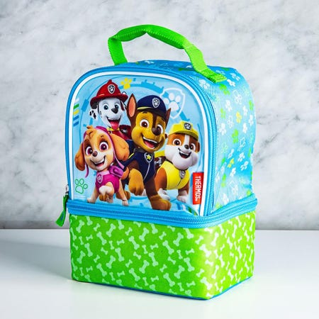98992_Thermos_Licensed_'Paw_Patrol'_Insulated_Novelty_Lunch_Bag__Green_Blue