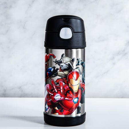 99004_Thermos_Double_Wall_Stainless_'Marvel_Universe'_Funtainer_Sport_Bottle